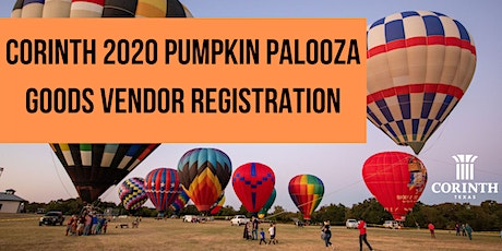 2020 Corinth Pumpkin Palooza Vendor Registration tickets