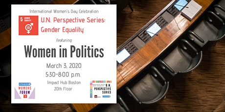 U.N. Perspective Series: Gender Equality (International Women's Day) tickets