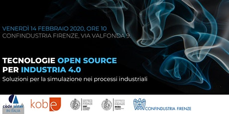 Tecnologie open source  per industria 4.0 biglietti