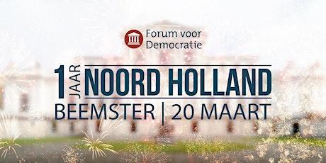 1 Jaar Noord Holland tickets