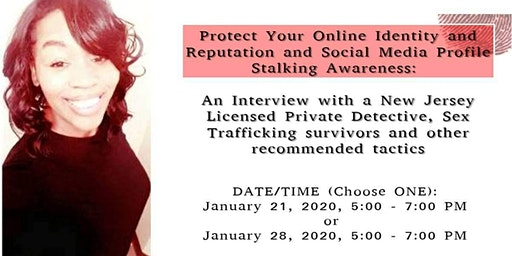 Protect Your Online Identity and Reputation and Social Media Profiling