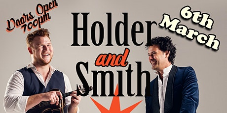 Live music with Holder & Smith at Harrogate Racquets Club. tickets