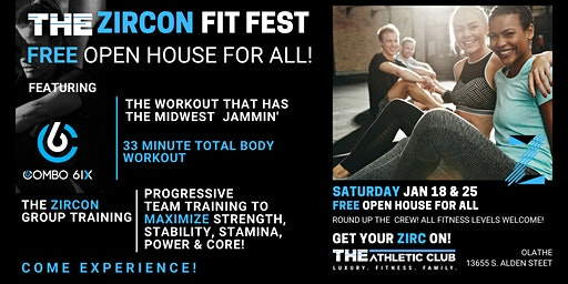 THE Zircon Fit Fest - THE Athletic Club Olathe