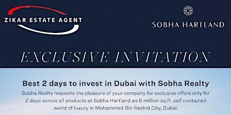 Exclusive Invitation to Invest in Dubai  tickets