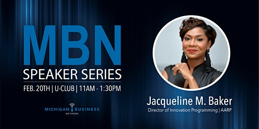 2020 MBN Speaker Series Luncheon with Jacqueline Baker