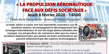 La propulsion aéronautique face aux défis sociétaux billets
