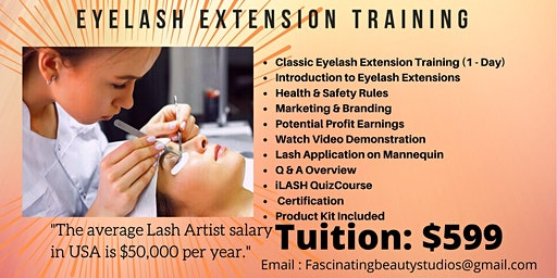 Eyelash Extension Course (Classic & Volume)