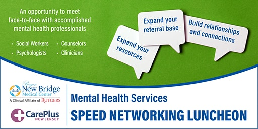 Mental Health Services Speed Networking Luncheon