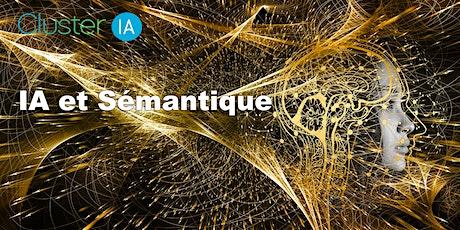 Meetup ClusterIA :  IA et Sémantique billets