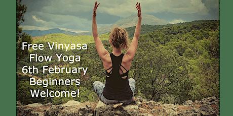***FREE*** Vinyasa Flow Yoga - Beginners! tickets