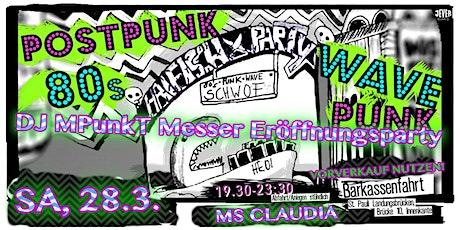 HAIFISCH-ERÖFFNUNGS-PARTY mit DJ MPunkT Messer Tickets