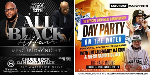 2 Most Attended Official MEAC Entertainment Events- March 13th & 14th