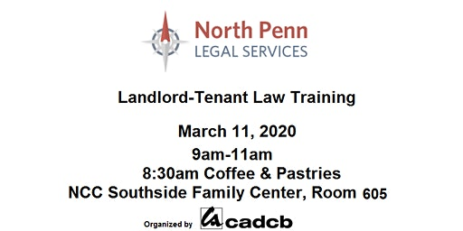 Landlord-Tenant Law Training by NPLS 3/11/2020