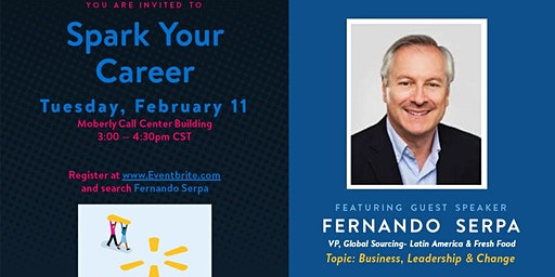 Spark Your Career Featuring Fernando Serpa