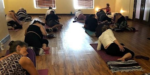 Restorative Yoga & Crystal Bowls