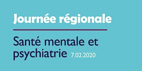 Journée régionale santé mentale et psychiatrie tickets