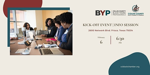 Collin County Black Young Professionals Kick-Off 2020