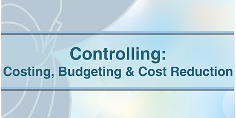 Curs Controlling – Costing, Budgeting & Cost Reduction tickets