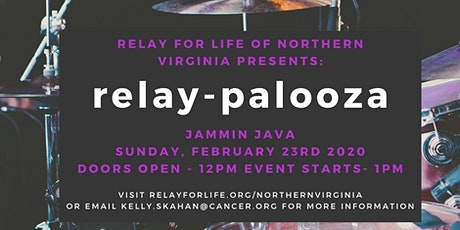 Relay for Life of Northern Virgina's 2020 Relay-Palooza tickets