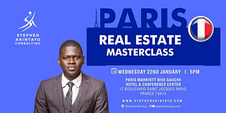 Real Estate Masterclass - Paris, France tickets