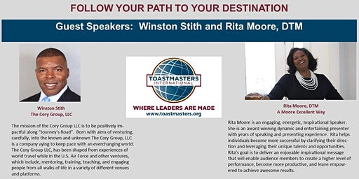 "Midtown Toastmasters Presents ""Follow Your Path to Your Destination"""