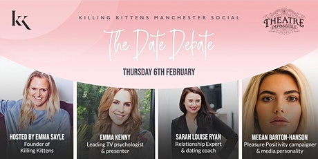 Killing Kittens Manchester Social - The Date Debate tickets