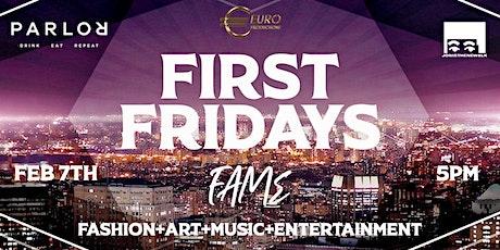 First Fridays FAME tickets