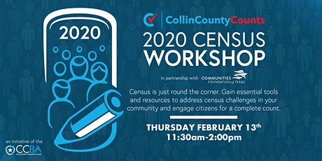 Collin County Counts || 2020 Census Workshop tickets