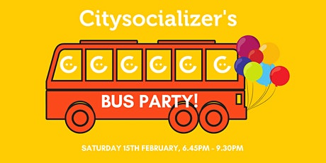 Citysocializer Bus Party tickets