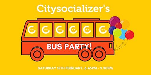 Citysocializer Bus Party
