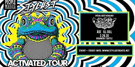 People Music Presents // Stylust Activated Tour w Toadface tickets