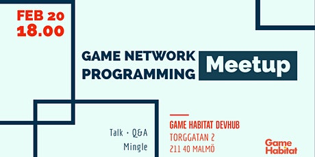 Game Network Programming Meetup: Fredrik Holmström (Quantum & Bolt) tickets