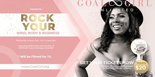 Rock Your Mind, Body & Business: Networking + Empowerment Social
