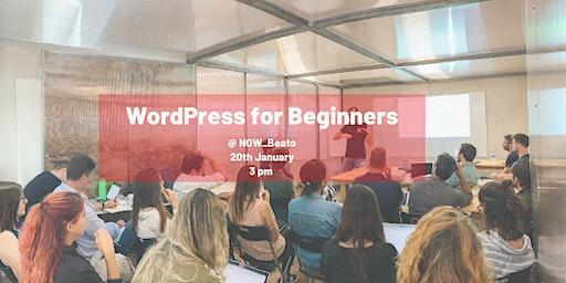 WordPress Workshop for Beginners