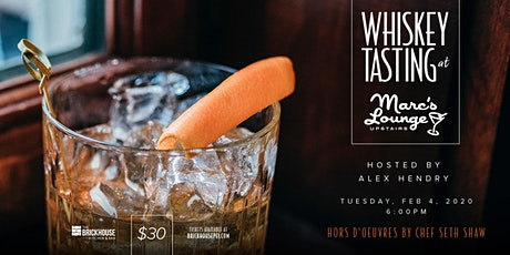 Whiskey Tasting at Marc's Lounge tickets