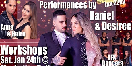 Sensual Movement's 4th year anniversary with DANIEL and Desiree tickets