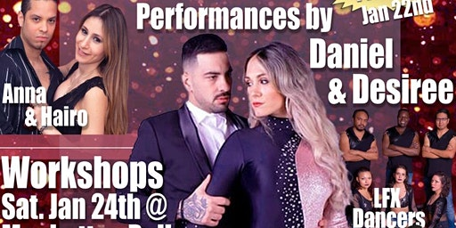 Sensual Movement's 4th year anniversary with DANIEL and Desiree