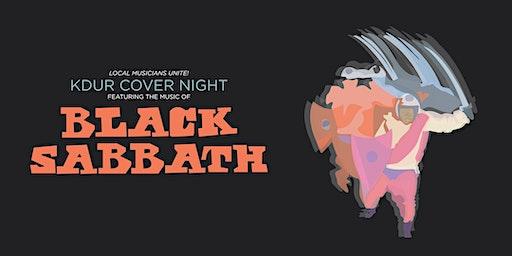 KDUR Black Sabbath Cover Night