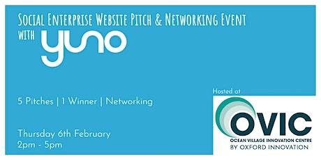 Social Enterprise Website Pitch & Networking Event tickets