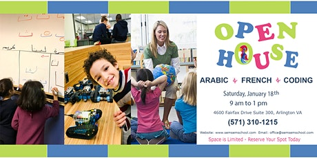 SemSem School Winter Session Open House tickets