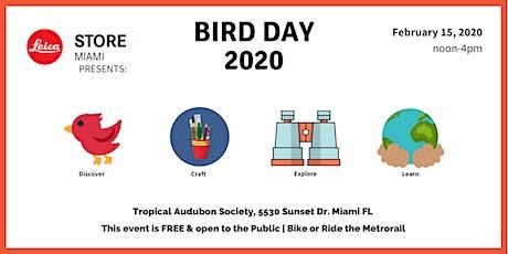 8th Annual Bird Day at Tropical Audubon Society tickets
