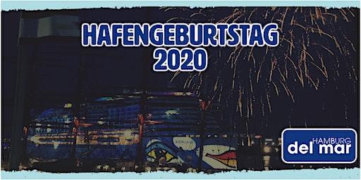 HAFENGEBURTSTAG HAMBURG 2020 im HAMBURG del mar