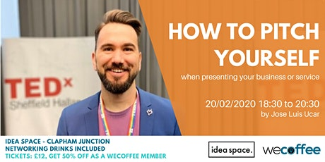 How to pitch yourself - when presenting your business or service tickets