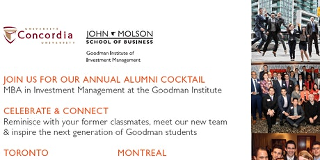 Goodman Institute Alumni Cocktail tickets