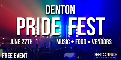 Denton Pride Fest 2020 tickets