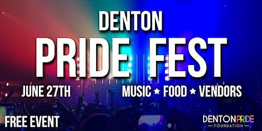 Denton Pride Fest 2020