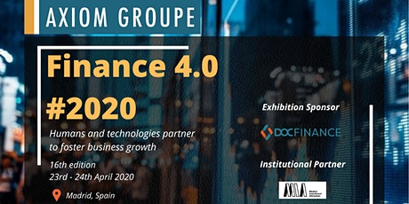 Finance 4.0 by Axiom Groupe tickets