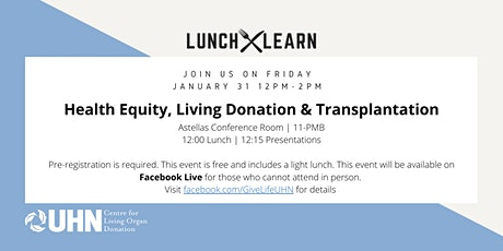 Health Equity, Living Donation & Transplantation tickets
