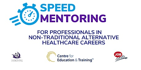 Non-Traditional Alternative Healthcare Careers Speed Mentoring tickets
