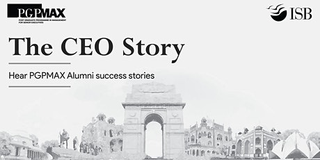 The CEO Story: PGPMAX |Chennai tickets